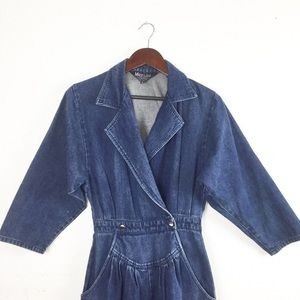 Vintage Denim Jumpsuit